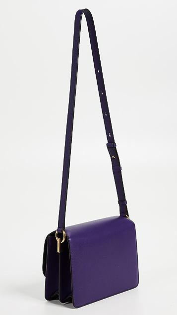 Salvatore Ferragamo Классическая сумка на ремне с клапаном