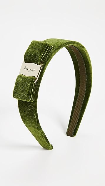 Salvatore Ferragamo Velvet Headband
