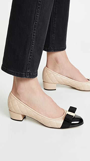Salvatore Ferragamo Vara Q Pumps