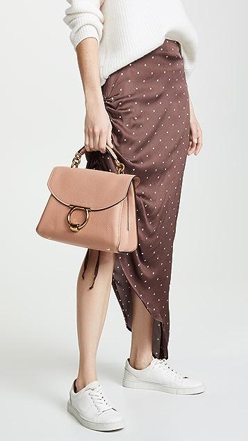 Salvatore Ferragamo Gancino Vela Soft Margot Small Bag