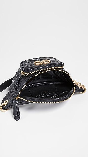 Salvatore Ferragamo Gancino Quilting Belt Bag
