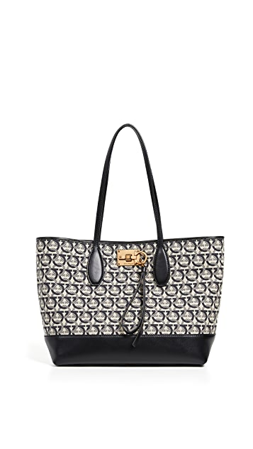 Salvatore Ferragamo The Gancini Studio Tote