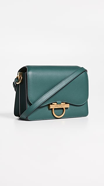 Joanne Medium Classic Flap Bag by Salvatore Ferragamo