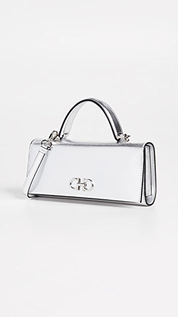 The Gancini Metal Bag by Salvatore Ferragamo