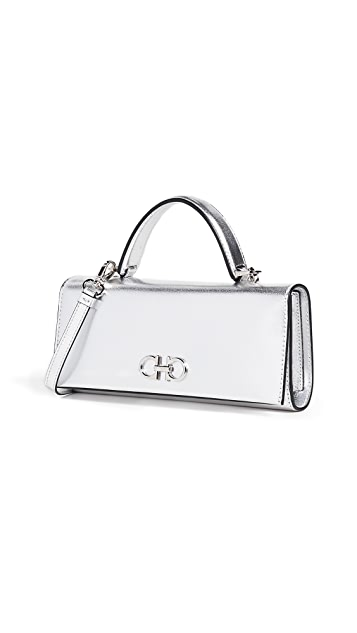Salvatore Ferragamo The Gancini Metal Bag