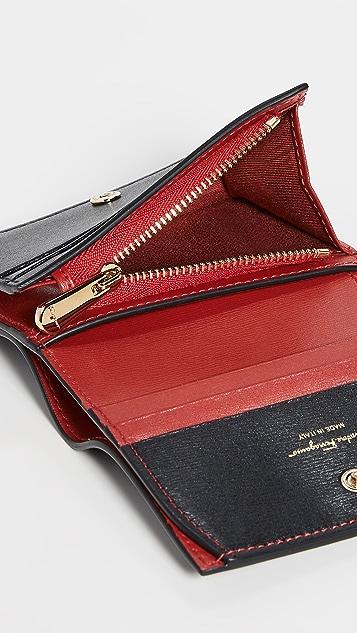 Salvatore Ferragamo Gancio City Wallet