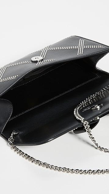 Salvatore Ferragamo Миниатюрная сумка Vara Rainbow с небольшими заклепками