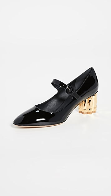 Salvatore Ferragamo 55mm Ortensia Pumps