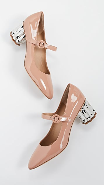 Salvatore Ferragamo Ortensia 55mm Pumps