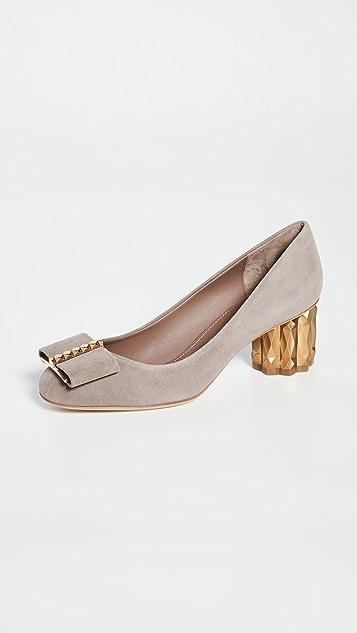 Salvatore Ferragamo Capua 55mm 3D 浅口鞋
