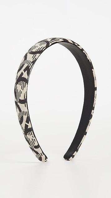 Salvatore Ferragamo Logo Headband