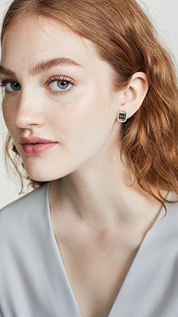 Salvatore Ferragamo Vara Stud Earrings