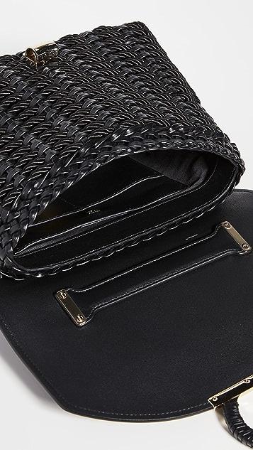 Salvatore Ferragamo Маленькая мягкая сумка Margot с отделкой шнуром