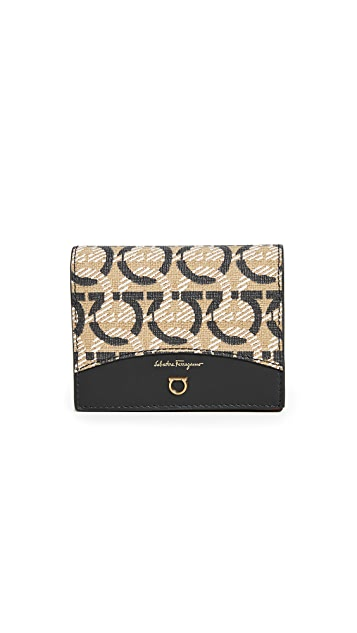 Salvatore Ferragamo All Gancini Wallets
