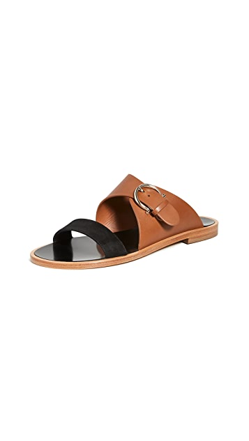 Salvatore Ferragamo Cassie 10mm Sandals