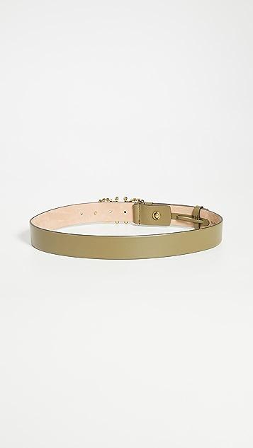 Salvatore Ferragamo Gancio Pearls Belt