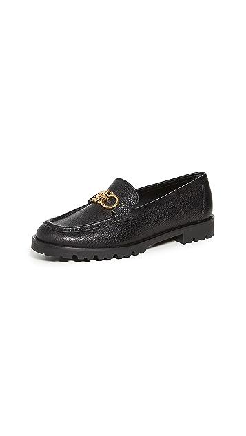 Salvatore Ferragamo Rolo 5 Loafers