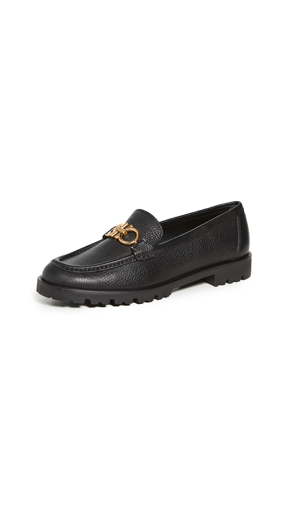 Salvatore Ferragamo Rolo 5 Loafers