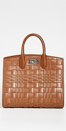 Salvatore Ferragamo - Woven Studio Bag
