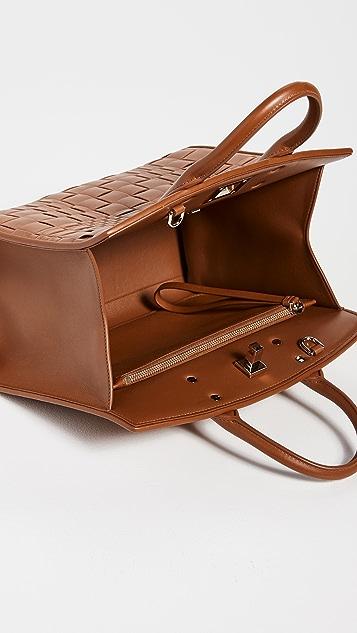 Salvatore Ferragamo Woven Studio Bag