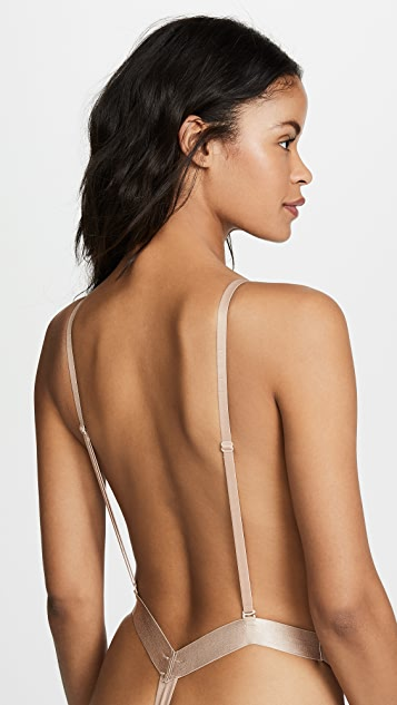 a81e63e9d8 ... Fashion Forms U Plunge Backless Strapless Bodysuit ...