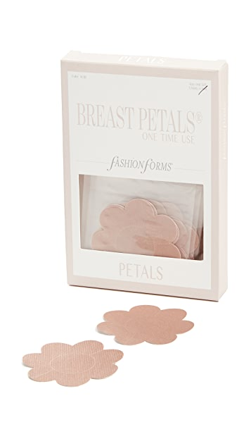 Fashion Forms Disposable Breast Petals 6 Pack