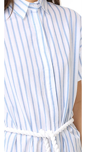 FAITHFULL THE BRAND Avalon Shirtdress