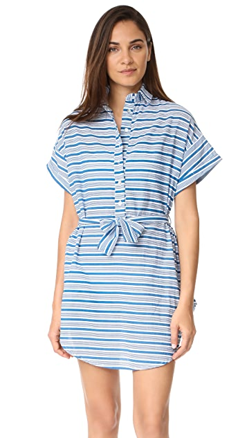 FAITHFULL THE BRAND Aaron Shirtdress