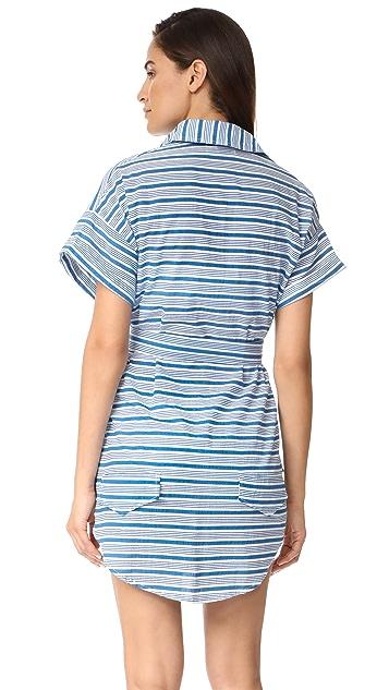 FAITHFULL THE BRAND Aaron Shirtdress