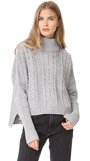 FAITHFULL THE BRAND Merida Knit Sweater
