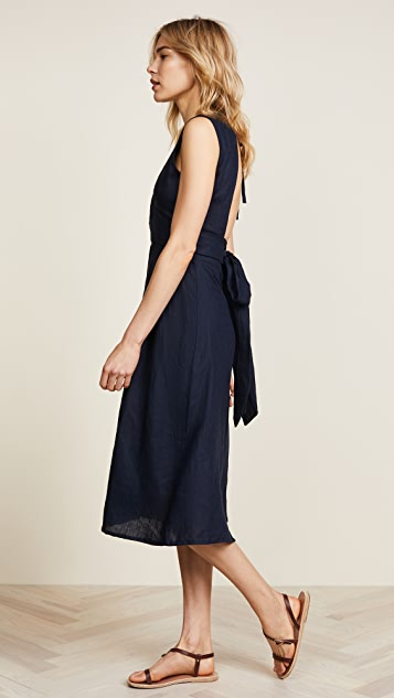FAITHFULL THE BRAND Le Roch Midi Dress
