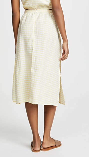 FAITHFULL THE BRAND Seine Skirt