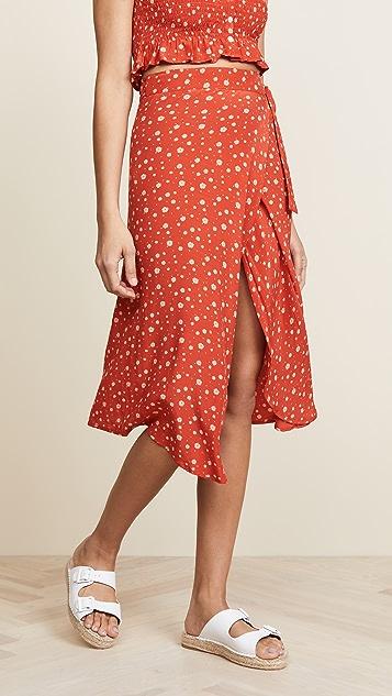 27913405 FAITHFULL THE BRAND Linnie Skirt | SHOPBOP