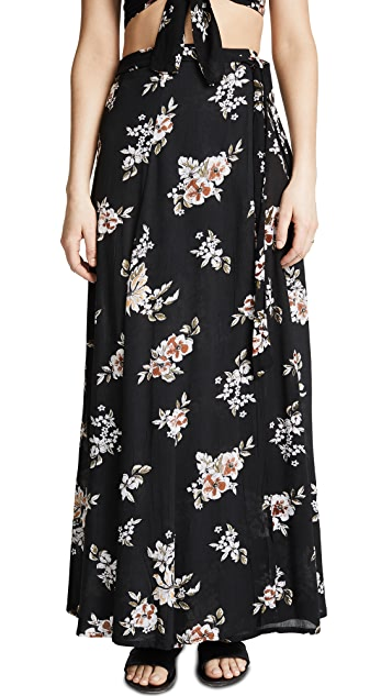 FAITHFULL THE BRAND Terviso Maxi Skirt