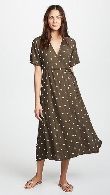 FAITHFULL THE BRAND Leila Wrap Dress