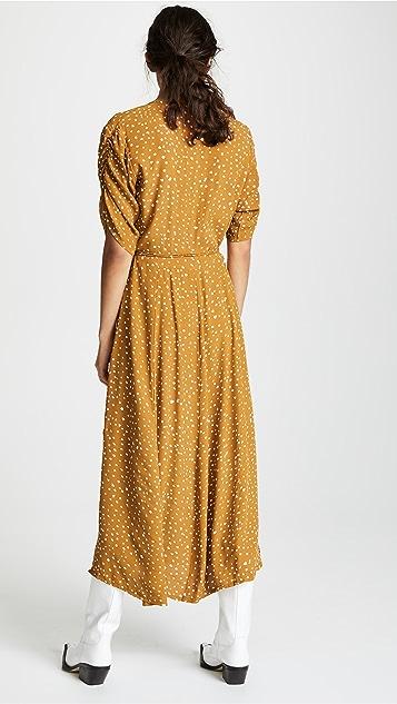 FAITHFULL THE BRAND Миди-платье Chiara