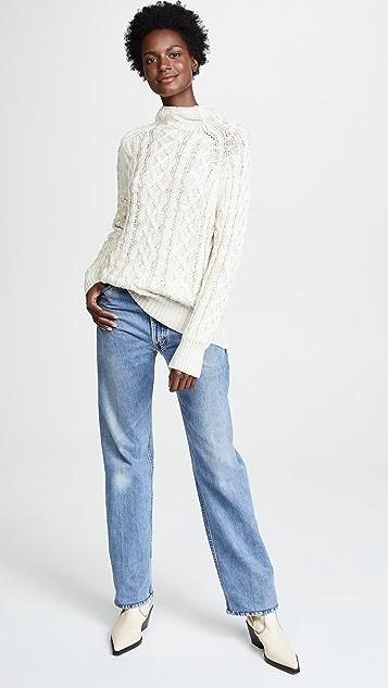 FAITHFULL THE BRAND Cass Knit Sweater