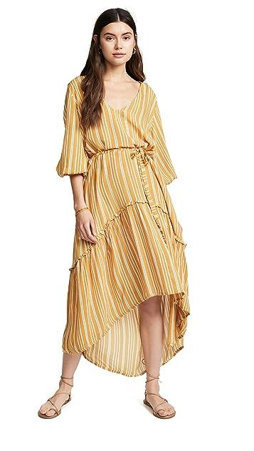 FAITHFULL THE BRAND Matilda Peasant Dress