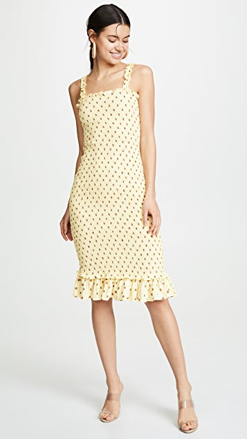 Nadine Midi Dress by Faithfull The Brand