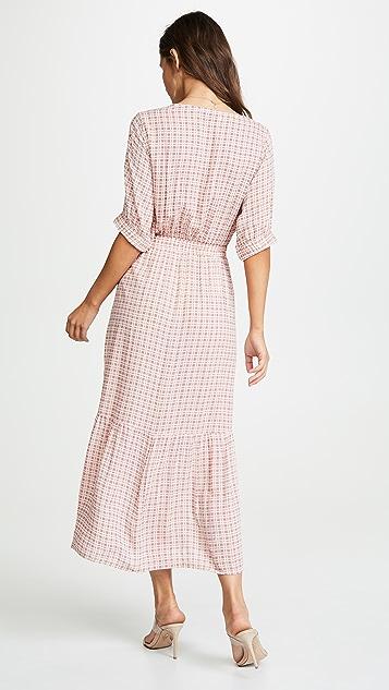 FAITHFULL THE BRAND Maple 中长连衣裙