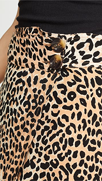 FAITHFULL THE BRAND Valois Midi Skirt