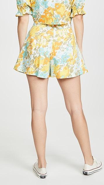 FAITHFULL THE BRAND Ondine Shorts