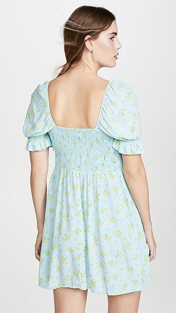 FAITHFULL THE BRAND Iris Mini Dress
