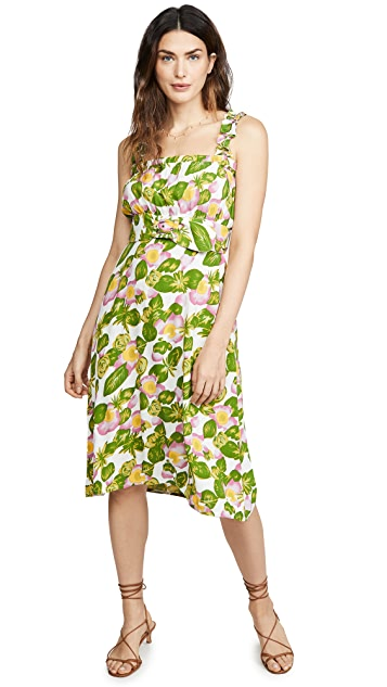 FAITHFULL THE BRAND Mae Midi Dress