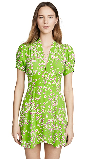 FAITHFULL THE BRAND Laurel Mini Dress