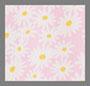 灰粉花卉印花