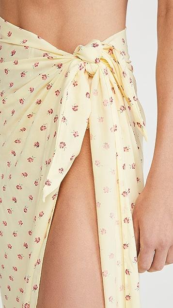 FAITHFULL THE BRAND 花卉包布裙