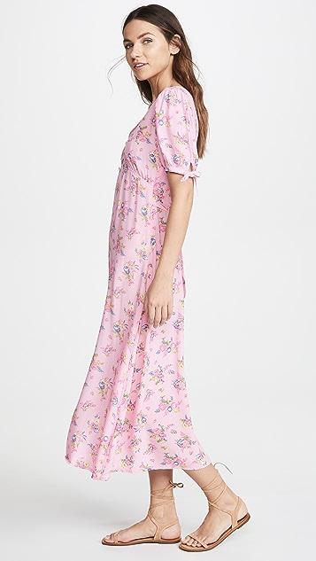 FAITHFULL THE BRAND Daija 中长连衣裙