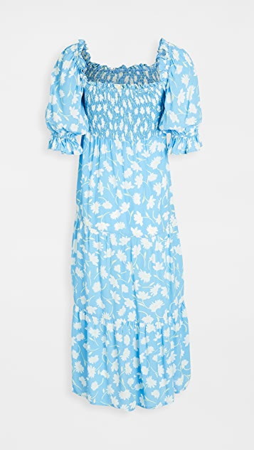 FAITHFULL THE BRAND Olinda Midi Dress