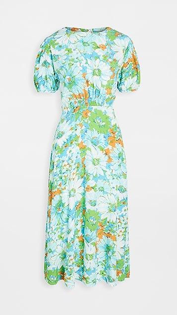 FAITHFULL THE BRAND Beline Midi Dress